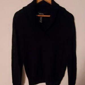 Jones New York Signature Black Sweater - S